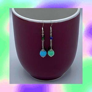 pom pom earrings!